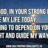 Jesus is my hope...
