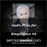 God's Plan for Employees #2