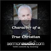 Character of a True Christian