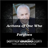 Actions of One Who Forgives