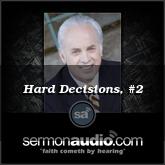Hard Decisions, #2