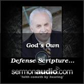 God's Own Defense Scripture 1B
