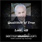 Qualities of True Love, 4B