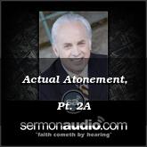 Actual Atonement, Pt. 2A