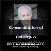 Consummation at Calvary, A