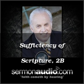 Sufficiency of Scripture, 2B