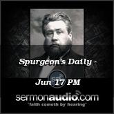 Spurgeon's Daily - Jun 17 PM
