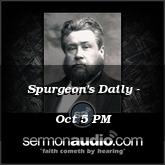 Spurgeon's Daily - Oct 5 PM