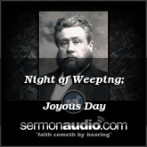 Night of Weeping; Joyous Day