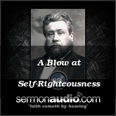 A Blow at Self-Righteousness