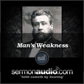 Man's Weakness