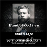 Hand of God in a Man's Life