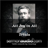 All Joy in All Trials