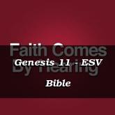 Genesis 11 - ESV Bible