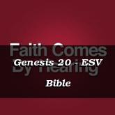 Genesis 20 - ESV Bible