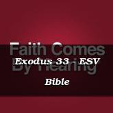 Exodus 33 - ESV Bible