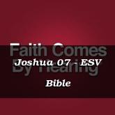 Joshua 07 - ESV Bible