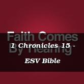 1 Chronicles 15 - ESV Bible