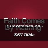1 Chronicles 24 - ESV Bible