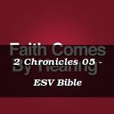 2 Chronicles 05 - ESV Bible