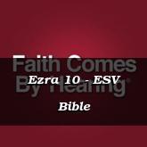 Ezra 10 - ESV Bible