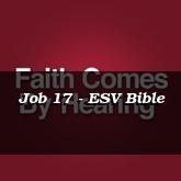 Job 17 - ESV Bible