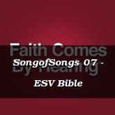 SongofSongs 07 - ESV Bible