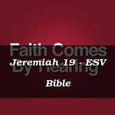 Jeremiah 16 - ESV Bible | PrayerRequest com