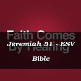Jeremiah 51 - ESV Bible