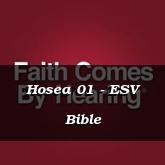 Hosea 01 - ESV Bible