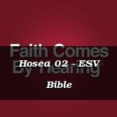 Hosea 02 - ESV Bible