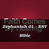 Zephaniah 01 - ESV Bible