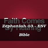 Zephaniah 03 - ESV Bible