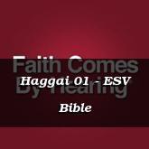 Haggai 01 - ESV Bible
