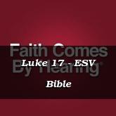 Luke 17 - ESV Bible