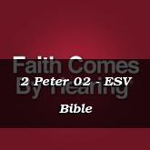 2 Peter 02 - ESV Bible