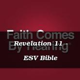 Revelation 11 - ESV Bible