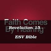 Revelation 15 - ESV Bible