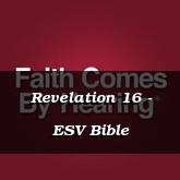Revelation 16 - ESV Bible