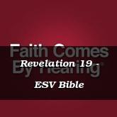 Revelation 19 - ESV Bible