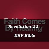 Revelation 22 - ESV Bible
