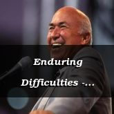 Enduring Difficulties - James1:1