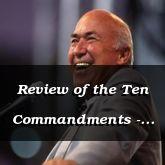 Review of the Ten Commandments - Deut 5:1 - C3052B