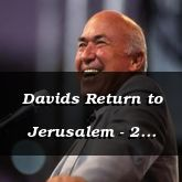Davids Return to Jerusalem - 2 Samuel 19:15 - C3098C