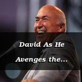 David As He Avenges the Gibionites - 2 Samuel 21:1 - C3099C