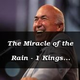 The Miracle of the Rain - 1 Kings 18:30 - C3109C