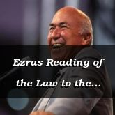 Ezras Reading of the Law to the People - Nehemiah 8:7 - C3151B