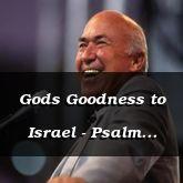 Gods Goodness to Israel - Psalm 68:18 - C3187B