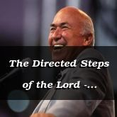 The Directed Steps of the Lord - Proverbs 16:10 - C3224C