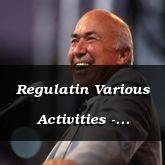 Regulatin Various Activities - Proverbs 27:18 - C3231B